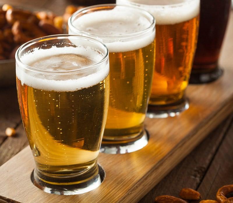 bigstock Assorted Beers In A Flight 84605042